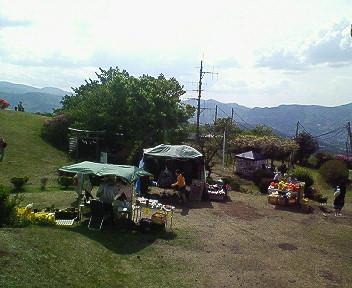 小室山山頂フリマ6日目