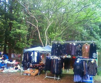 森の露天市・2010・秋季