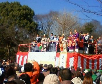 2011年2月3日・遊行寺・節分
