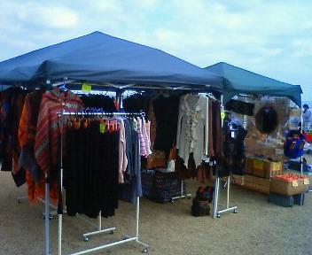 伊豆多賀・長浜海浜公園フリーマーケット 2012.1.8